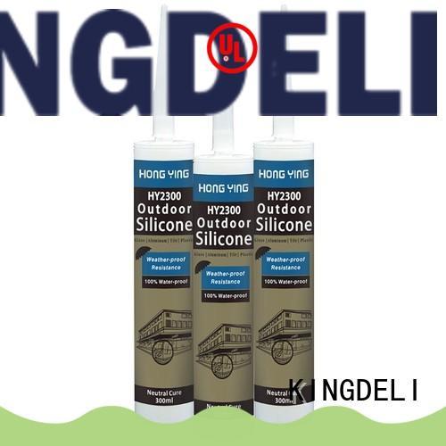 KINGDELI economic bulk silicone sealant customized for glass