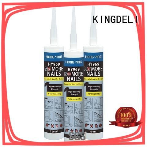 no more nails mirror for paneling KINGDELI