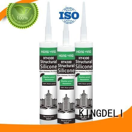 KINGDELI high quality silicone sealant tube wholesale repair work in aquariums