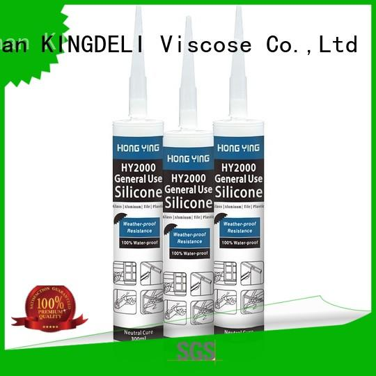 KINGDELI online silicone adhesive series for window