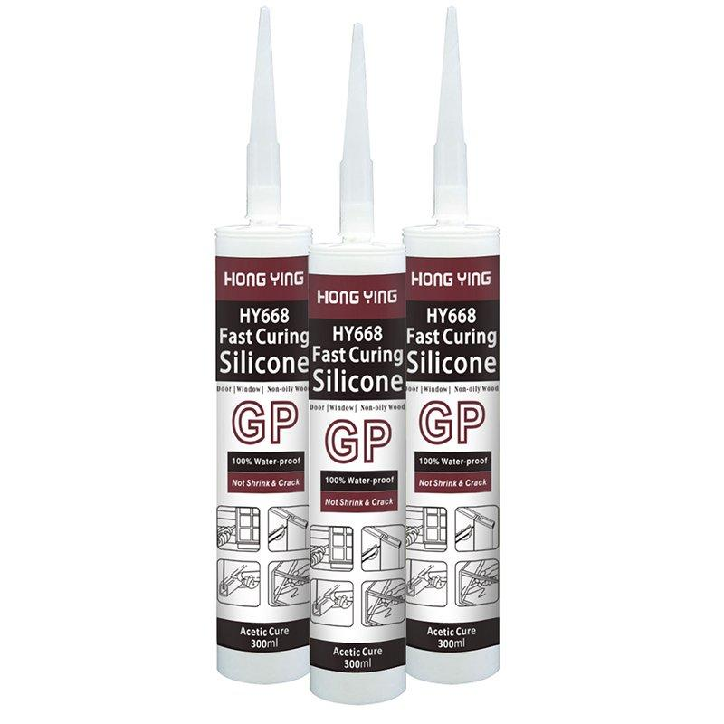 HY-668 General Purpose Acetic Silicone Sealant