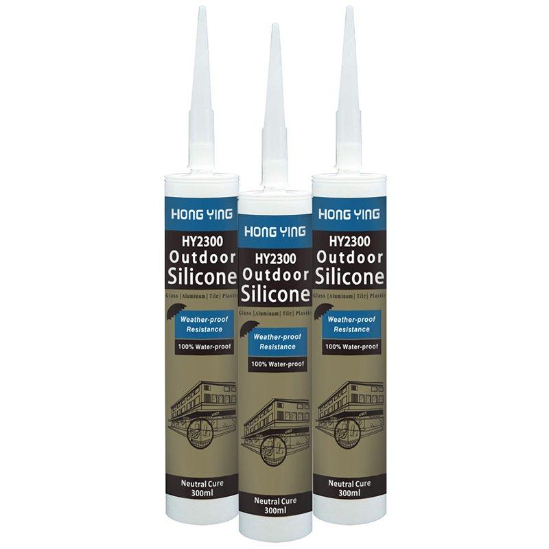 HY2300 Weatherproof Neutral Silicone Sealant for outdoor