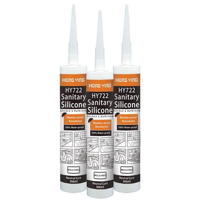 HY722 Sanitary Silicone Sealant