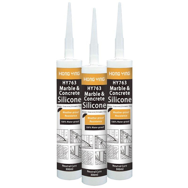 HY763 Marble Stone Silicone Sealant