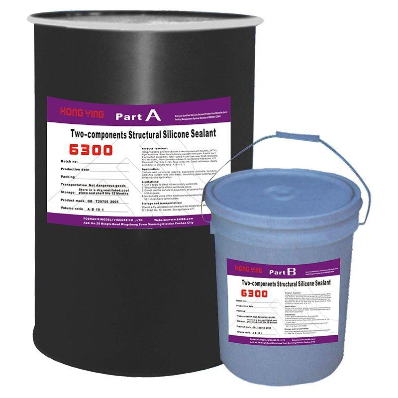 HY-6300 Two Component Structural Silicone Sealant