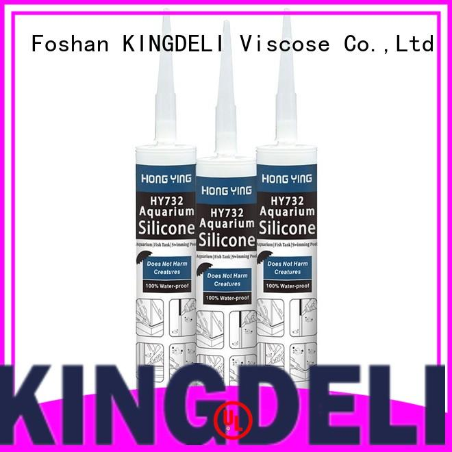 KINGDELI structural waterproof silicone sealant underwater series repair work in aquariums