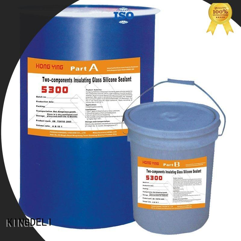 KINGDELI component silicone adhesive glue manufacturers for curtain wall