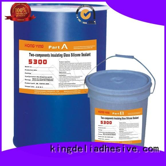 KINGDELI high quality clear silicone sealant series for curtain wall