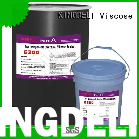 KINGDELI component silicone glue supply for roof