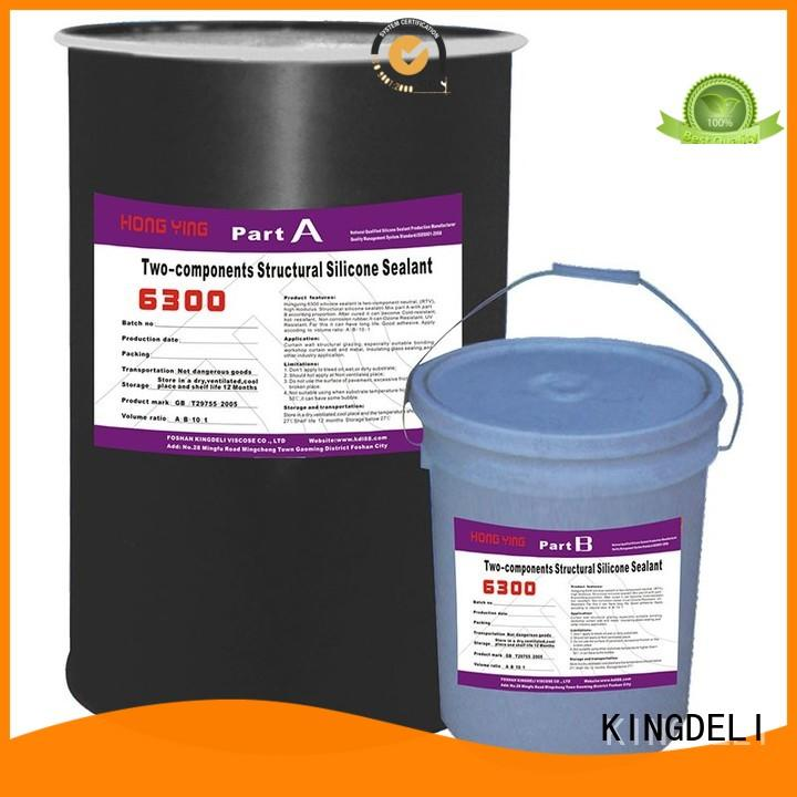 KINGDELI structural red silicone sealant supplier for roof