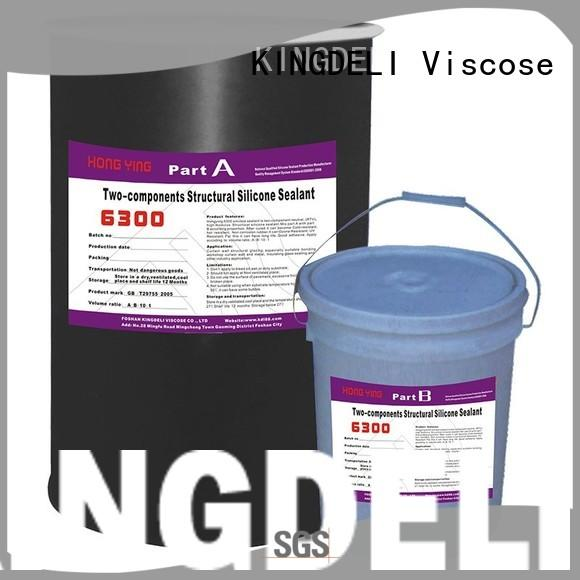 KINGDELI structural silicone glue for plastic manufacturer for curtain wall