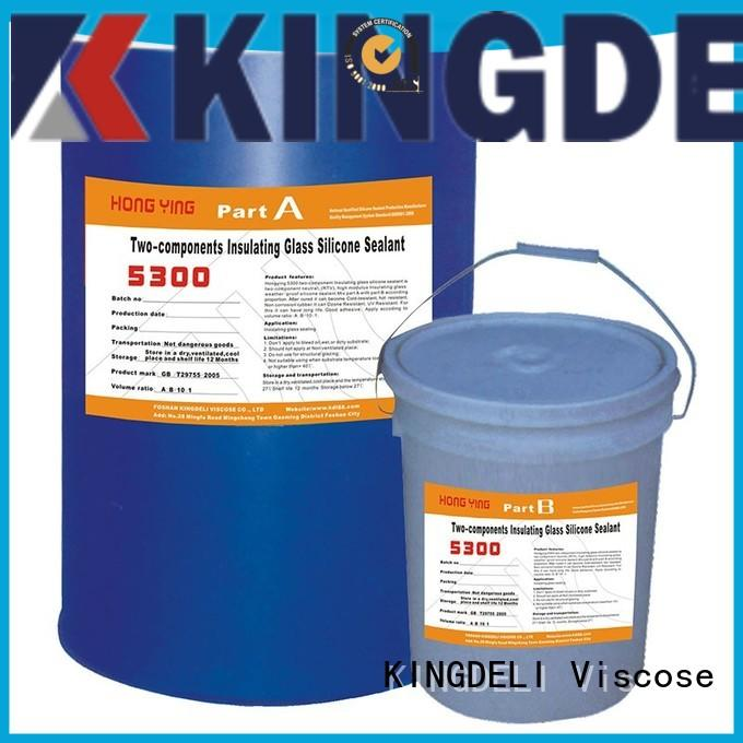 KINGDELI insulating black silicone sealant wholesale for curtain wall