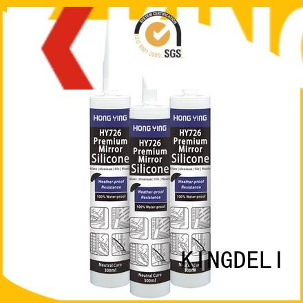 KINGDELI New waterproof silicone sealant supply for door glazing.