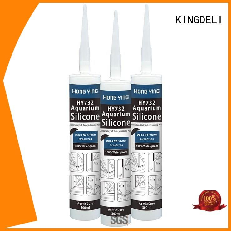 wall silicone roof sealant sealant for adhesion KINGDELI