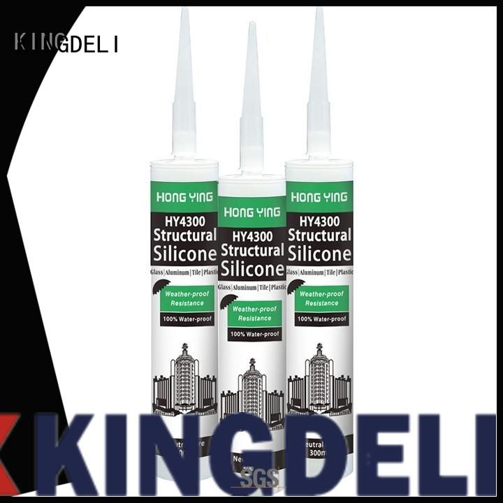KINGDELI high quality silicone sealant tube customized for sealing