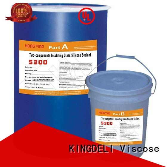 KINGDELI Custom silicone glue uses suppliers for glass insulating