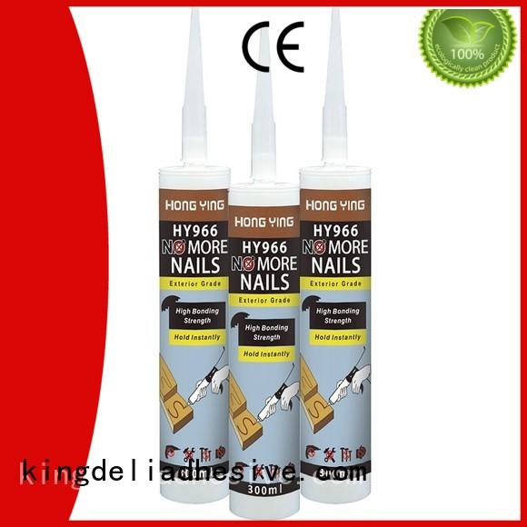 KINGDELI mirror no more nails sealant wholesale for masonry decking