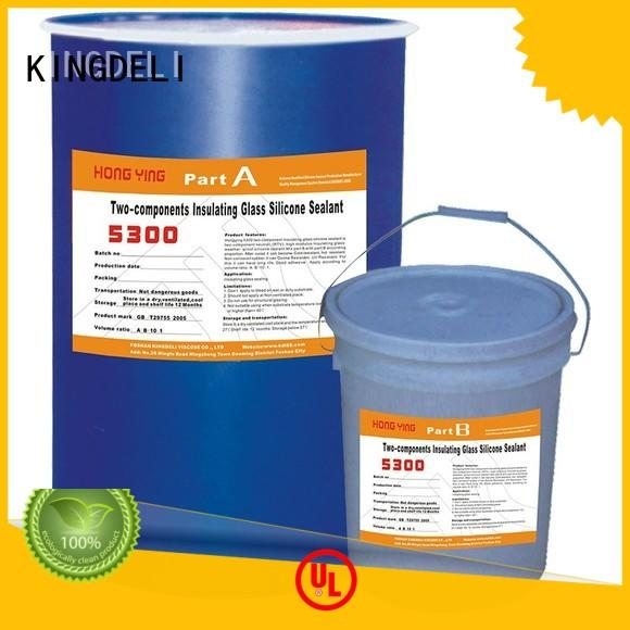 KINGDELI structural what is silicone glue manufacturer for glass insulating