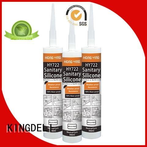 economic bathroom silicone sealant supplier for window