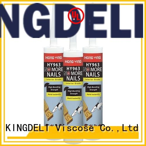 water-proof no more nails for outside use manufacturer for paneling KINGDELI
