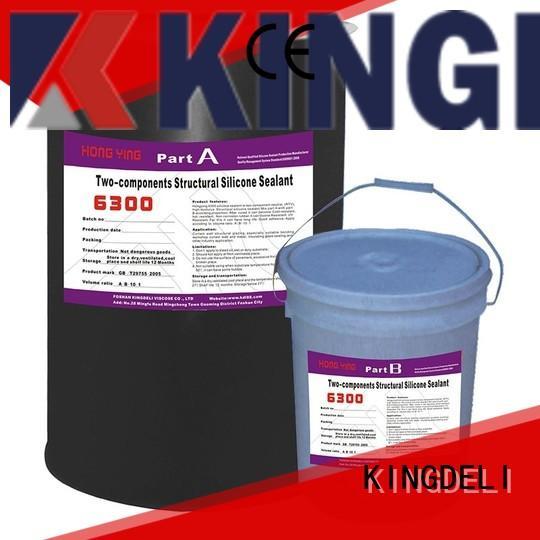 KINGDELI glass silicone adhesive glue company for curtain wall