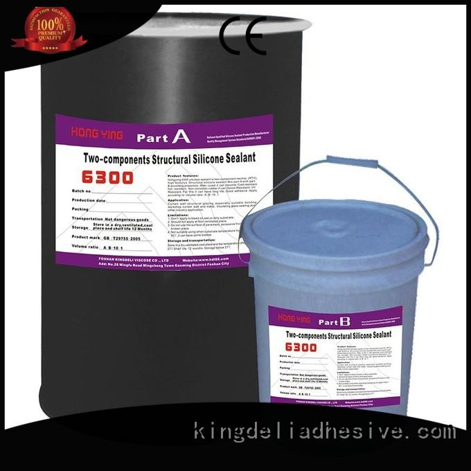 KINGDELI High-quality grey silicone sealant suppliers for glass insulating