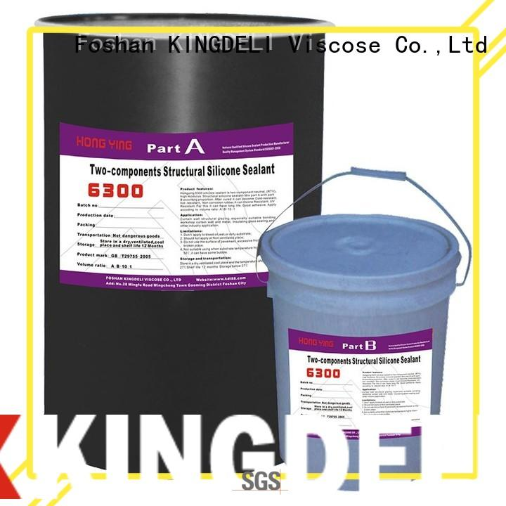KINGDELI Brand component structural silicone glass sealant manufacture