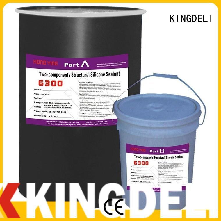 KINGDELI sealant grey silicone sealant wholesale for curtain wall