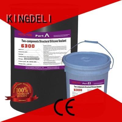 KINGDELI High-quality grey silicone sealant company for glass insulating