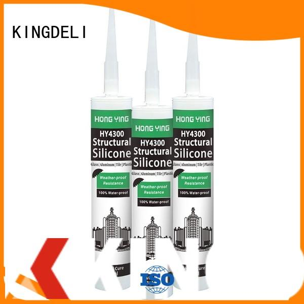KINGDELI online waterproof silicone sealant underwater manufacturer for adhesion