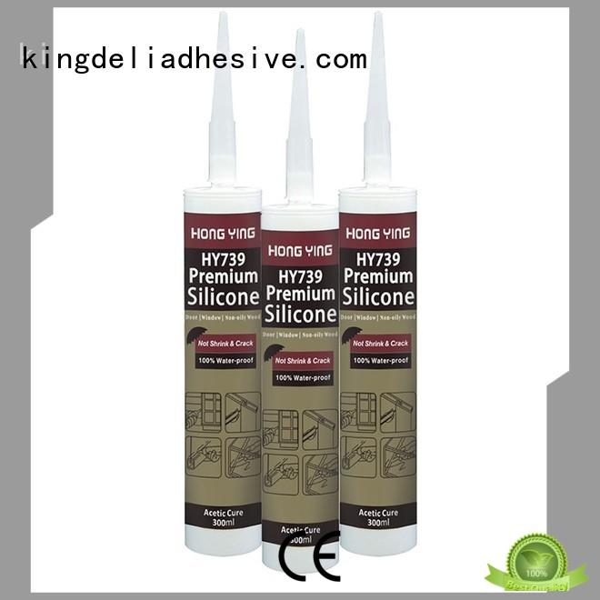 Top window silicone sealant acetic suppliers for glass