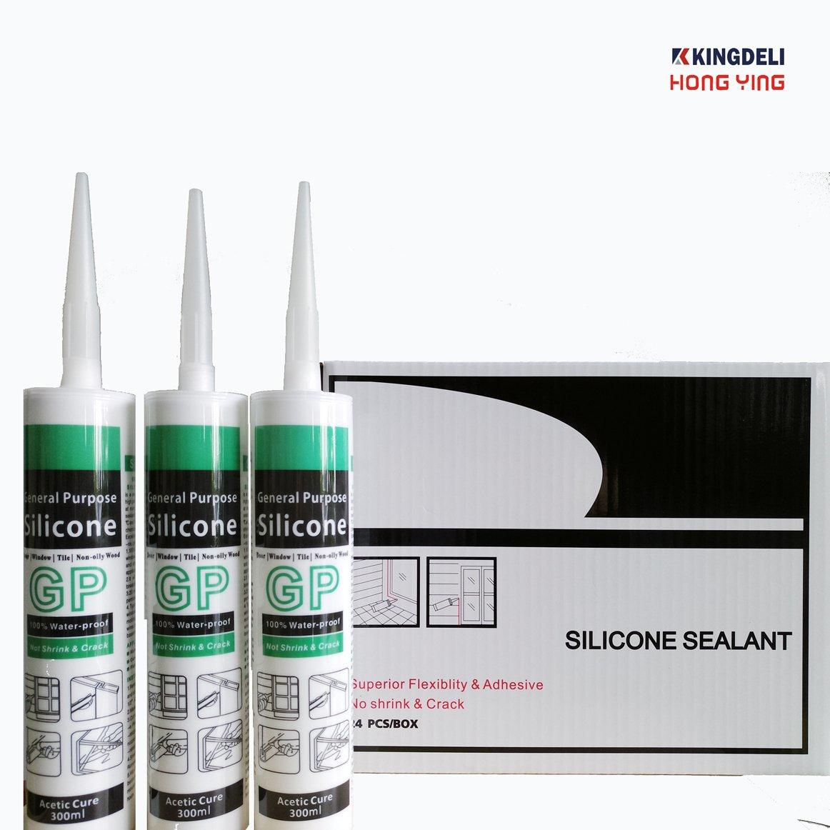 HY638 Economic General Purpose Acetic Silicone Sealant