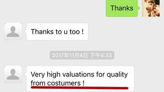 Customer Feedback: How KINGDELI bring value to cusomter