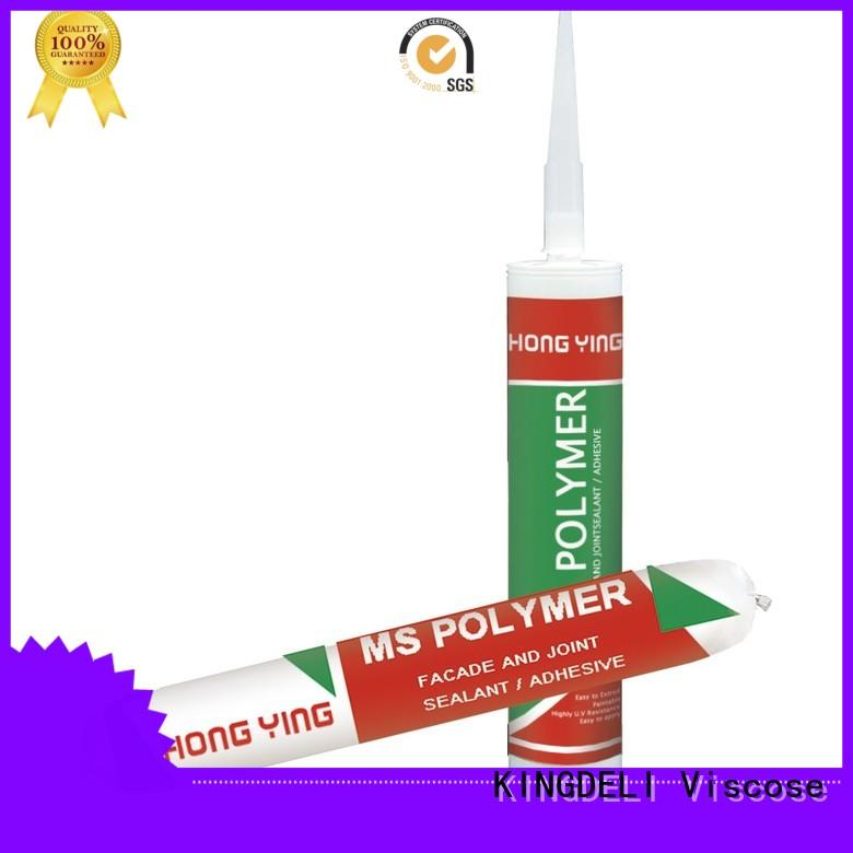 highly flexible clear silicone sealant polymer manufacturer for wood