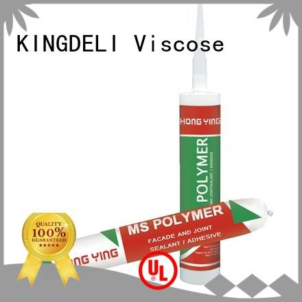 KINGDELI high quality clear silicone sealant customized for wood