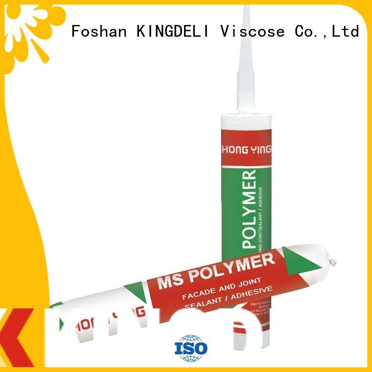 KINGDELI sealant clear silicone sealant supply for wood